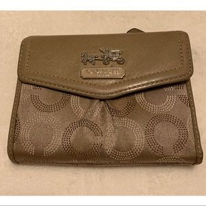 Coach Madison Dotted Wallet.